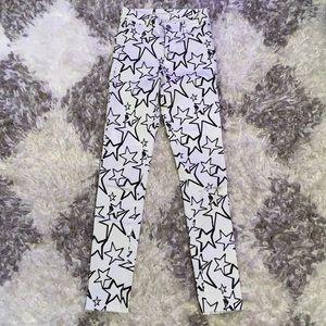 Zara Star Print Skinny Jeans